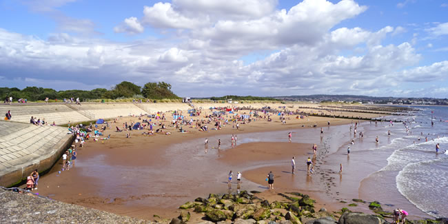 Dawlish Warren Beach - Sheltered and Safe